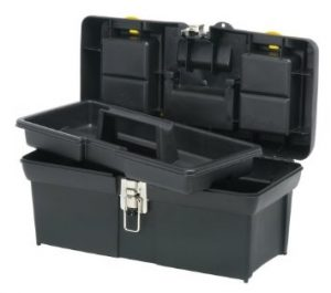 """Stanley 016013R 16"""" Series 2000 Tool Box with Tray"""